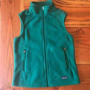 Patagonia Fleece Vest - women's medium
